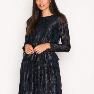 Y.A.S Yascindy Ls Dress Pitkähihainen Mekko Tummansininen