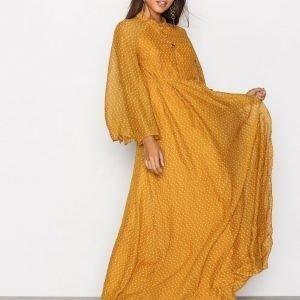 Y.A.S Yasglowa Maxi Dress Maksimekko Oranssi
