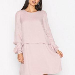 Y.A.S Yasholly Dress Loose Fit Mekko Vaalea Pinkki