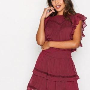Y.A.S Yashora Dress Loose Fit Mekko Tummanvioletti