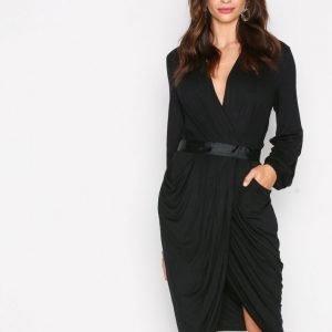 Y.A.S Yasmacy L / S Jersey Dress Kotelomekko Musta