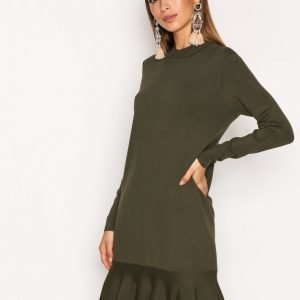 Y.A.S Yasmedia Knit Dress Mekko Vihreä