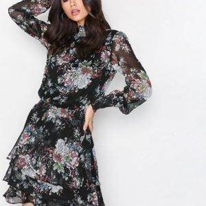 Y.A.S Yassulukka Ls Dress Loose Fit Mekko Musta