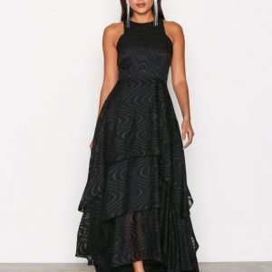 Y.A.S Yasthrone Maxi Dress Maksimekko Musta