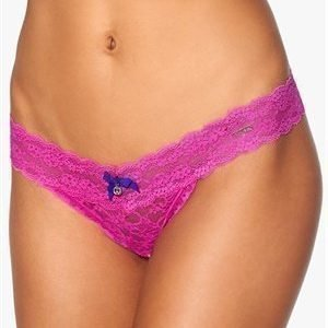 YHUSH Nelly Lace Thong Pink