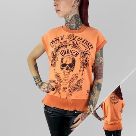 Yakuza Hihaton Paita Oranssi