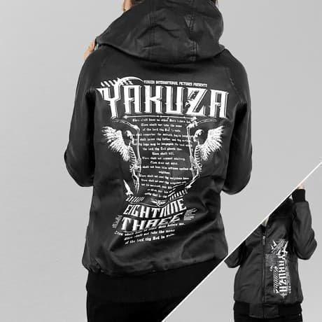 Yakuza Nahkatakki Musta