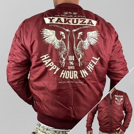 Yakuza Pilottitakki Punainen