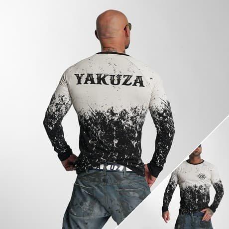 Yakuza Pitkähihainen Paita Musta