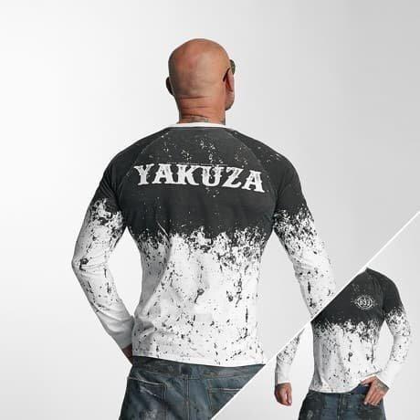 Yakuza Pitkähihainen Paita Valkoinen