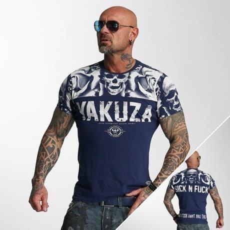 Yakuza T-paita Indigonsininen