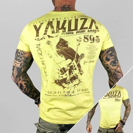 Yakuza T-paita Keltainen