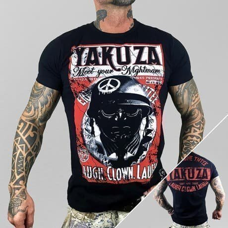 Yakuza T-paita Musta