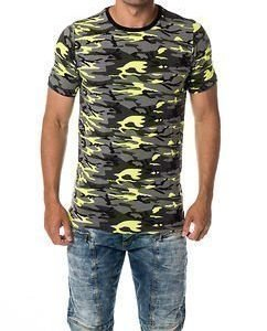 Yellow Camo Plain