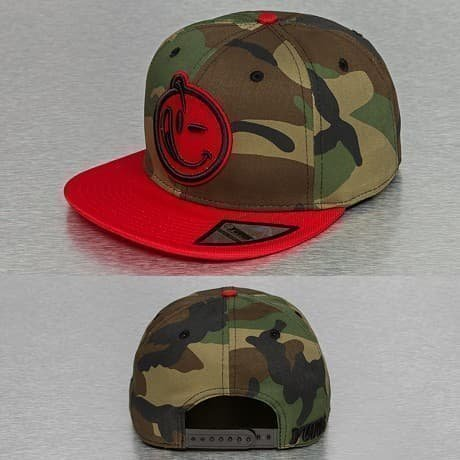 Yums Snapback Lippis Camouflage