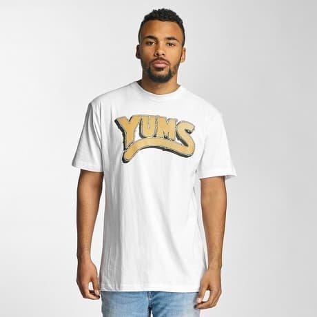 Yums T-paita Valkoinen