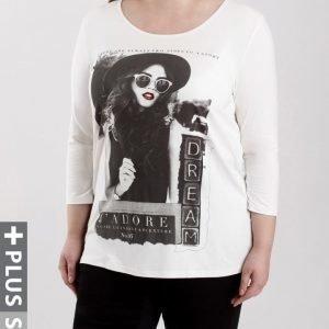 Zizzi pitkähihainen T-paita