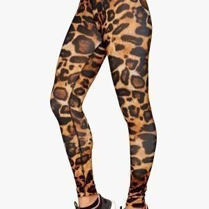 b:motion Alex printed train tights Leopard printed