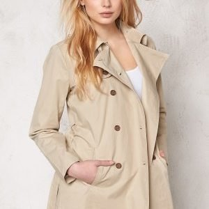 b.young Alex Short Trenchcoat Oxford Tan