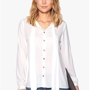 b.young Felice Blouse 80115 Off White