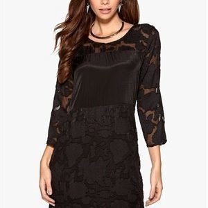 b.young Gabbia Dress 80001 Black