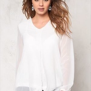 b.young Hadina blouse Off White