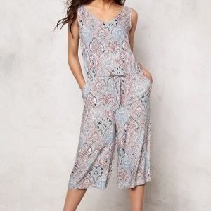 b.young Hattie Jumpsuit Chambray Blue