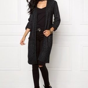b.young Magalene Cardigan Antracit Grey Mel