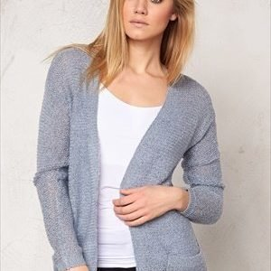 b.young Manus cardigan Chambray Blue