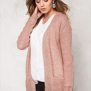 b.young Manus cardigan Warm rose