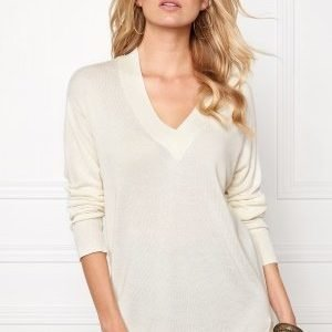 b.young Oasisi V-Neck Off White