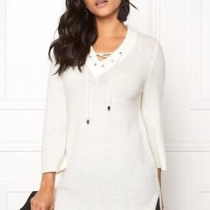 b.young Oyester v-neck Sweater Off White
