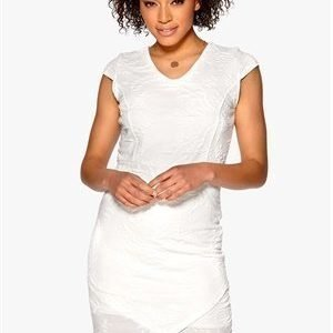 b.young Ragna Dress Off White