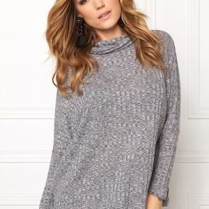 b.young Uhanna Roll neck Asphalt mel