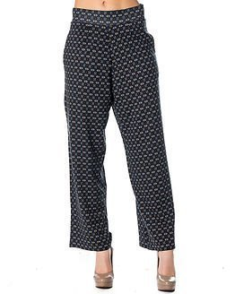 edc by Esprit Aop Pant Dark Blue