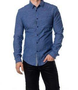 edc by Esprit Chambrey Shirt Blue