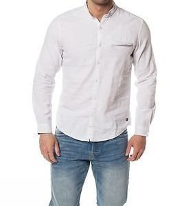 edc by Esprit Cotton Shirt White