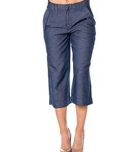 edc by Esprit Culotte Pants Blue Denim