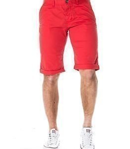 edc by Esprit Flow Chino Berm Shorts Red