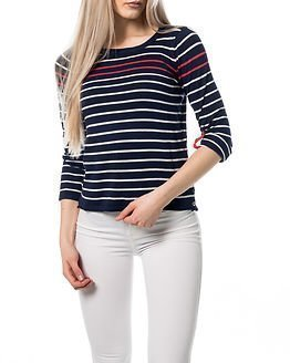 edc by Esprit Stripe Knit Navy Blue