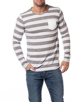 edc by Esprit Stripe Shirt Grey