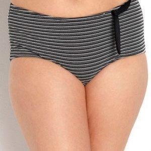 mariemeili Bikinihousut Curves Freesia Musta Valkoinen